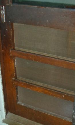 Wardroom screen door - Before - 2007